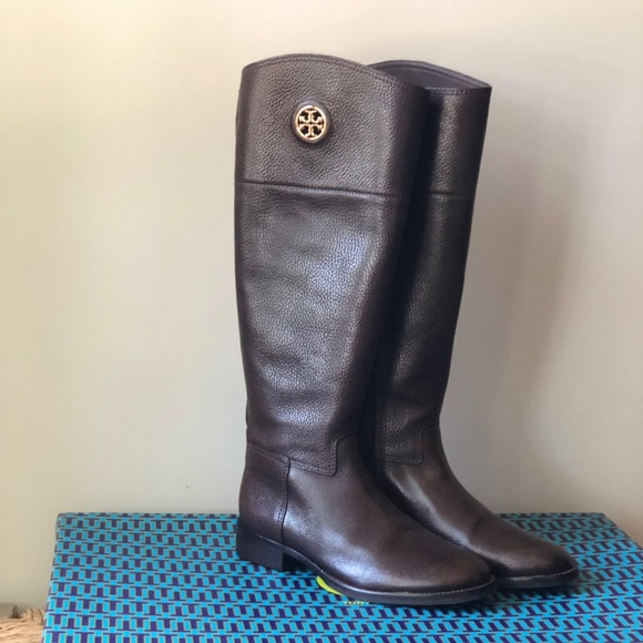 0f2ea814e48 Tory Burch Junction Riding Boot Size 7M